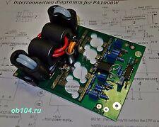 HF power amplifier 1000W VRF2933 SD2933 1KW CW/SSB without transistors