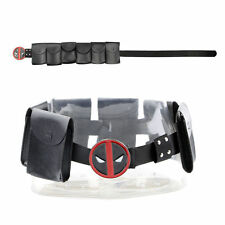 Superhero Metal Unisex Belt Deadpool X-Men Accessories Costume Cosplay Props