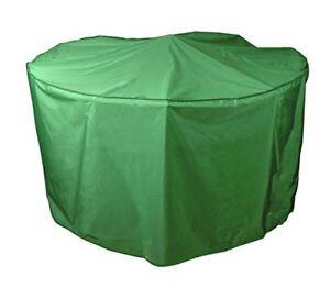 Bosmere MG524 8/10 Seat Circular Patio Set Cover - Green