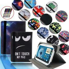 """Folio Leather Rotating Stand Cover Case For 7"""" 8"""" 10"""" Samsung Galaxy Tab Tablet"""