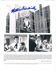 Matthew BRODERICK-Inspecteur Gadget-Original handsigniertes Photo-Main signed