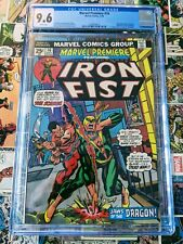 Marvel Premiere #16 CGC 9.6 2nd appearance and Origin of Iron Fist, 1st Lei Kung