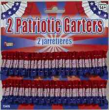 Patriotic Garter Armbands USA Barber Shop 20's Halloween Costume Accessory