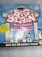 BIG BRAIN ACADEMY 2007 BOARD GAME COMPLETE  pre-owned