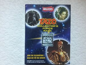 Tazos Pogs Walkers Star Wars Trilogy Collectors Pack