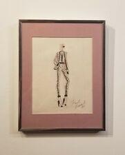 Karl Lagerfeld Drawing -Fashion Drawing- colored pencil