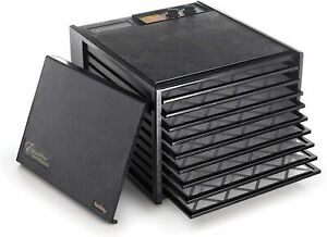Excalibur Food Dehydrator 9-Tray Electric 26h Timer Automatic Shut Off (3296TB)