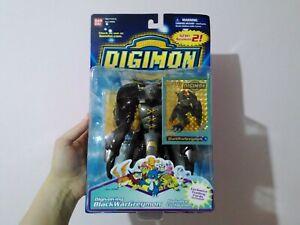 NEW IN BOX BlackWargreymon Digivolving Action Figure 16cm BANDAI Digimon