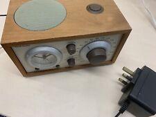 Henry Kloss Model Three 3 Tivoli Audio Am/Fm Alarm Clock Radio