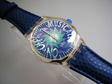 """SWATCH MUSICALL """"TONE IN BLUE"""" +NEUWARE+  Melody by Jean Michel Jarre"""