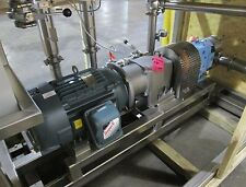 New! Waukesha Pump Skid, pump model 130U2, driven by 25 hp