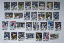 Milwaukee Brewers 2017 Topps Series 1, 2, & Update Base Team Set *30 cards*