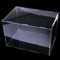 Clear Acrylic Display Show Case Box for Action Figure Model Toys 32x25x25cm