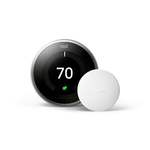 New ! Google Nest Temperature Thermostat Bluetooth Low Energy **Ready To Ship**