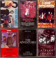 LOT 10 Cassette Tapes PLAY TESTED Rock Pop MOTELS DIVINYLS LIME SPIDERS etc.
