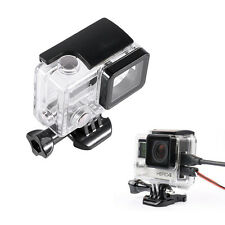 Side Open Skeleton Protective Housing Case Mount For Gopro Hero 4/3+ Camera TP