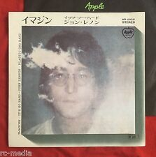 "JOHN LENNON (Beatles) -Imagine- Rare Japanese ORIGINAL Apple Records 7"" (Vinyl)"