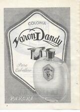 Publicidad hojas anuncios revista 1954