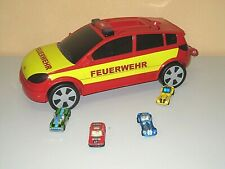 Super Aufbewhrungs Feuerwehr Transportauto + 4 Autos für 24 Autos Licht Sound