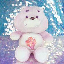"Care Bears SHARE BEAR Milkshake 13"" Plush Stuffed Animal 1985 80s Vintage BP014"