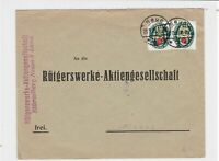 germany 1929 stamps cover ref r13495