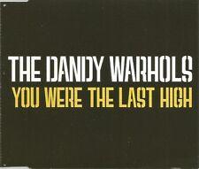 DANDY WARHOLS You Were the last high 2 UNRELEASED TRX CD Single SEALED USA seler