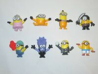 McDonald's 2020 Minions: Rise of Gru Happy Meal Toys Lot of 8 Figures