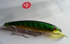 Leurre pêche mer riviere Minnow 11,5cm 13,5g nage jusqu'à 2m maquereau