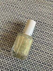 New Essie Nail Polish Glitter~ Shine Of The Times Top Coat  0.46oz Authentic
