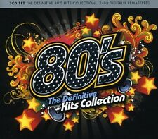 Various Artists - 80's: Definitive Hits Collection / Various [New CD] Digipack P