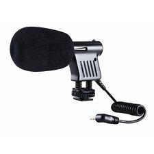 BOYA BY-VM01 Directional Video Condenser Microphone Nikon BT