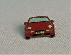 Porsche Lapel Badge, 968, Red