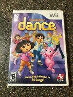 Nickelodeon Dance (Nintendo Wii 2012) Kids Game - New Factory Sealed - Free Ship