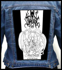 BESTIAL SUMMONING - The Dark War Has Begun  --- Giant Backpatch Back Patch