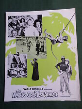 JAN- MICHAEL VINCENT - TIM CONWAY  THE WORLD'S GREATEST ATHLETE   PRESS SHEET