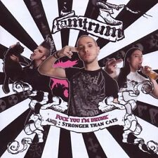 TAMTRUM Fuck You I'm Drunk / Stronger Than Cats CD 2009