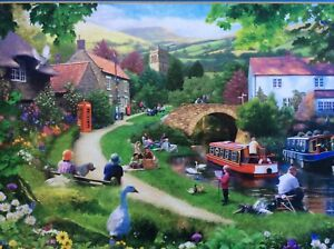 LIFE IN THE SLOW LANE1000 PIECE GIBSONS JIGSAW USED