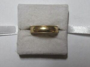 Jewelry - 14K Yellow Gold Men's Wedding Ring R23 - 9.82 Gross Grams - Size 10
