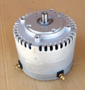 "Manta 10 HP Electric DC motor with 3/4"" shaft  go kart, ebikes,"