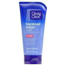 Clean & Clear Blackhead Eraser Scrub - 5 oz  (3 PACK)