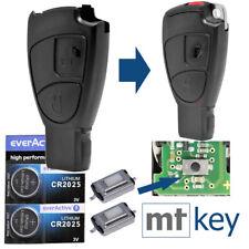 Auto Schlüssel REPAIR Mercedes Benz 2 Tasten Funk Fernbedienung Funkschlüssel