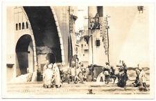 Real Photo Postcard The Thief of Bagdad Movie Set~103956