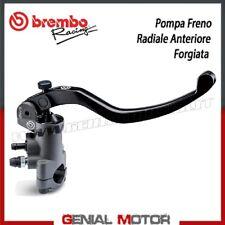 Pompa Freno Radiale Anteriore Brembo Racing PR 19x20 - Forgiata - Leva Lunga