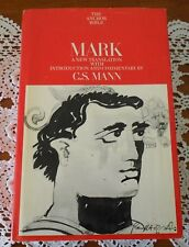 MARK A NEW TRANSLATION BY C.S. MANN - THE ANCHOR BIBLE SERIES HARD COVER