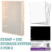EZMount Stamp + Die Storage Binder Box Organiser System (Crafter's Companion)