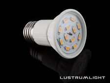 4 x e27 ES Vite Grande r50 SMD LAMPADINA 12 SDMS in bianco caldo 3 Watt = 50 WATT