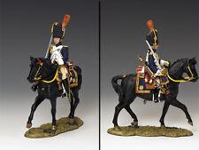 KING And Country francese MONTATO Granatiere con spada (guardando ANTERIORE) na220