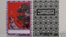 SDCC Comic Con 2013 EXCLUSIVE IDW Samurai Jack 2013 Convention signature card