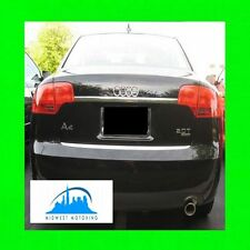 2005.5-2008 AUDI A4 PRECUT CHROME TRUNK TRIM MOLDING 05 06 07 08 2006 2007