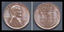 1955-S US Lincoln Brilliant Uncirculated - Red BU - NR - Free Shipping